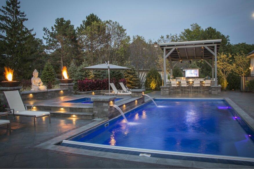 The meaning of zen pool spa news awards award for Zen pool design