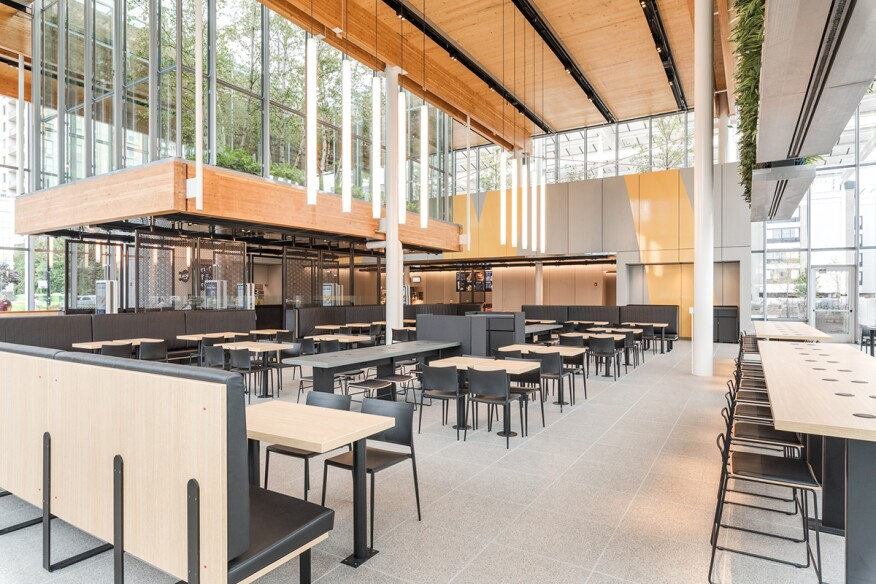 A Steel And Clt Mcdonalds Flagship Opens Today In Chicago