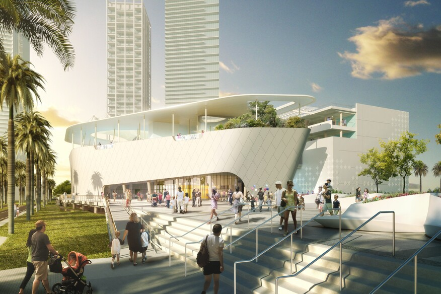 New Science Museum Miami >> Miami S Frost Museum Of Science Opens May 8 Architect Magazine