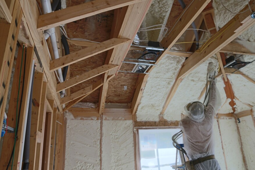 Air sealing options good better best jlc online for Which insulation is better