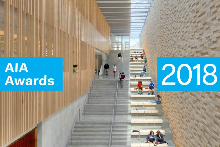 the american institute of architects aia announced the winners of the 2018 institute honor awards for interior architecture which celebrates the most - Interior Architecture Magazine