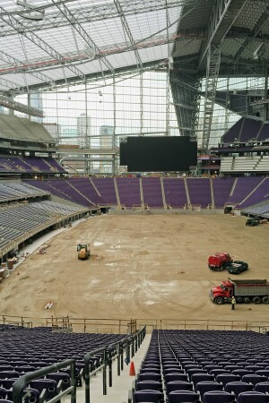 Experiencing the Outdoors Inside the New Minnesota Vikings ...