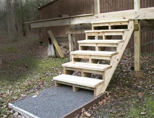 Tips For Building Deck Stairs Jlc Online Decks Outdoor Rooms