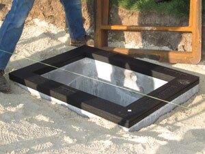 Layering system for manhole grade adjustment | Concrete