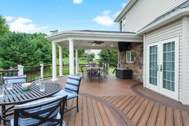 Could stone paver decks compete with wood and composites for How much does composite decking weigh