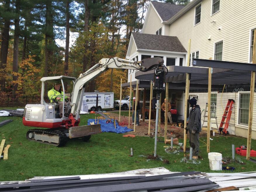 Adding Curves to a Steel-Frame Deck | Professional Deck Builder ...