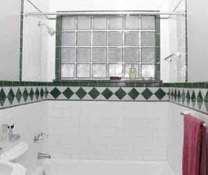 Glass Block Shower Window Jlc Online Windows Shower Cast In