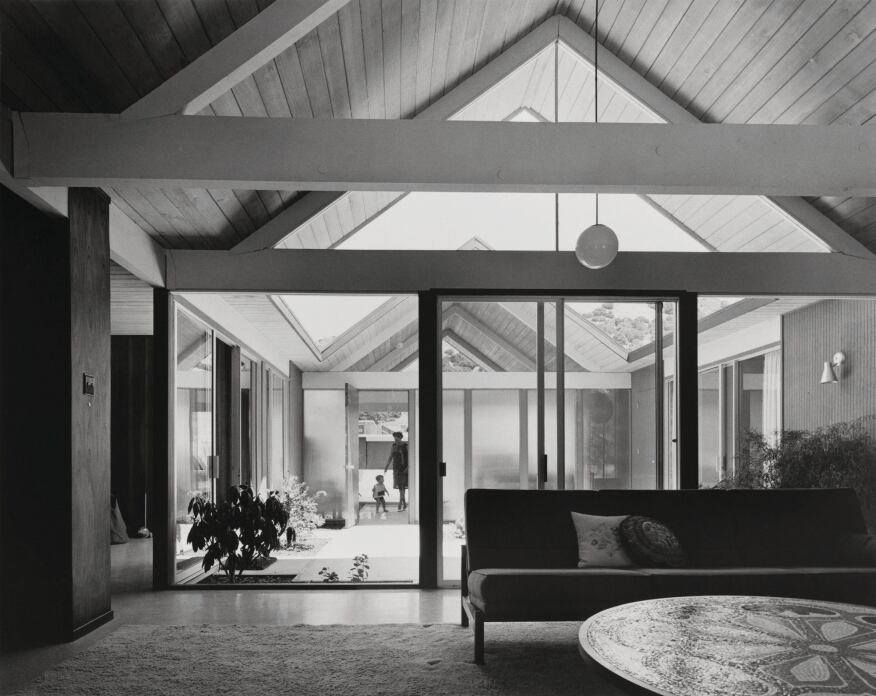 Bringing the eichlers back to the bay area architect for Eichler flooring