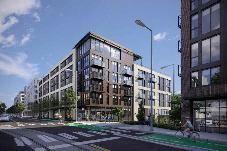 Mill Creek Residential is targeting LEED Silver certification for its Modera Broadway community in Seattle.