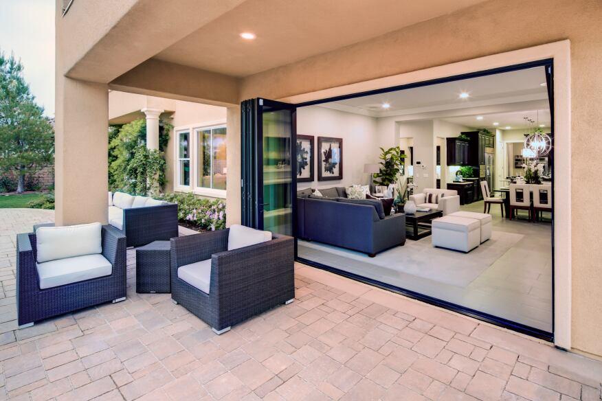 Wide Span Doors Expand Your View Custom Home Magazine Doors