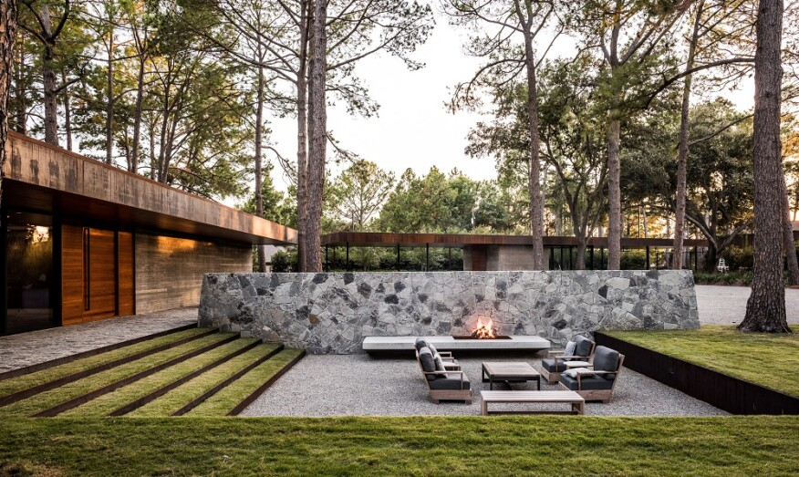 Photo: Hocker Design Group, Robert Yu, Justin Clemons/Courtesy ASLA - These Are The Top Residential Landscape Trends For 2018 Builder