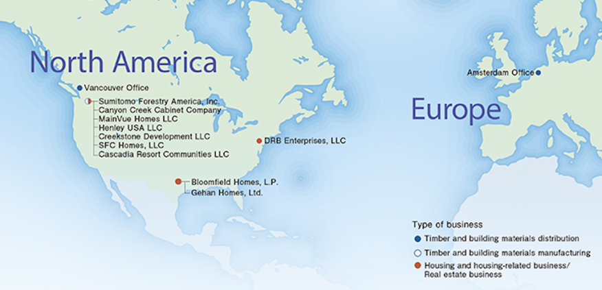 Heres what the sumitomo dan ryan deal means for ma in home sumitomo forestry footprint in north america sciox Images