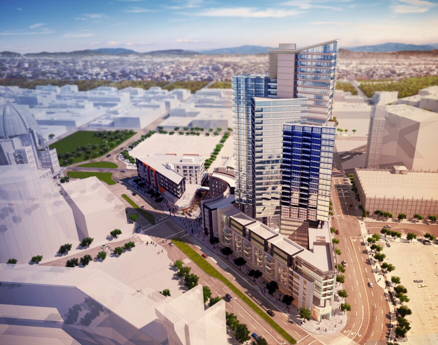 Luxe Apartments in San Diego Mixed-Use Near Completion ...