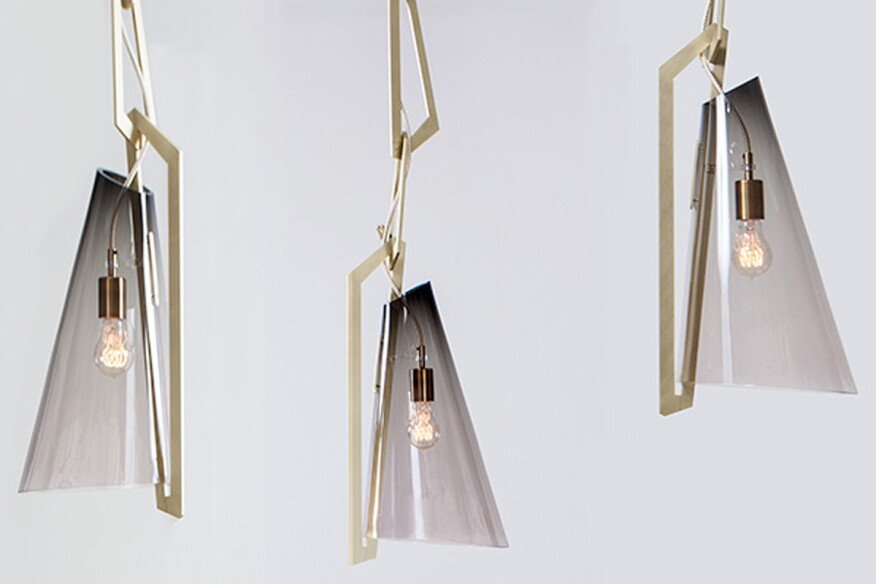 seven brass lighting products from icff 2016 architect magazine