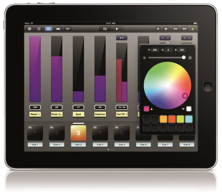 control lighting with ipad. Apps \u2022 Luminair For IPad, SyntheFX Synthe FX Has Released An IPad Version Luminair, Its Desktop-class, Multitouch DMX Lighting Control App. With Ipad