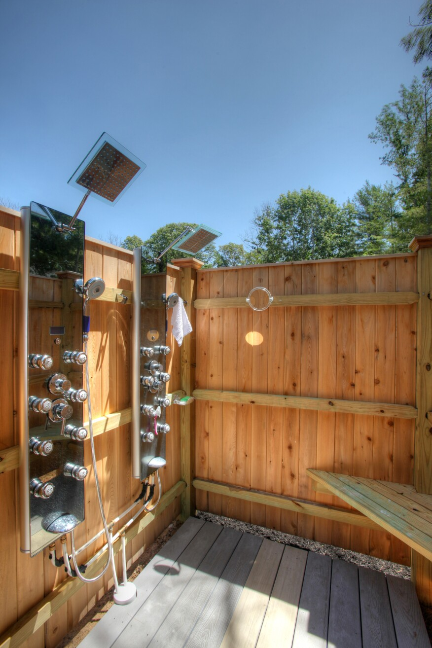 No Chance of Showers | JLC Online | Plumbing, Shower, Outdoor Rooms