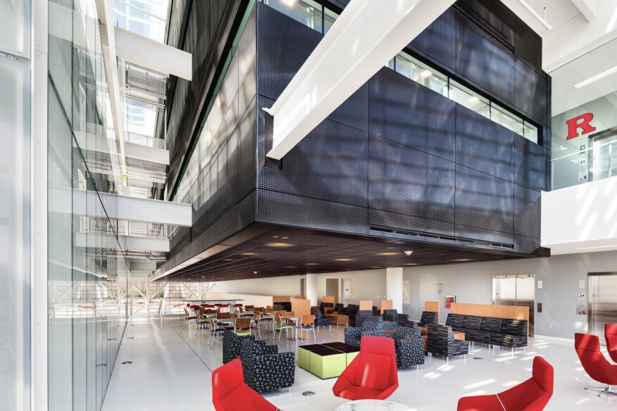 Rutgers Business School Architect Magazine Education Projects Building Envelope Planning
