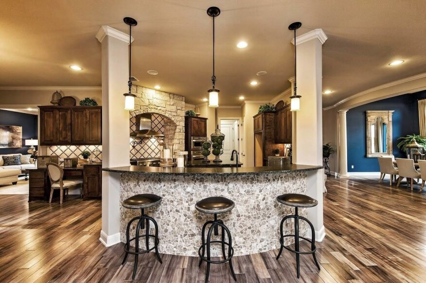 Interior Design Model Homes. A Taylor Morrison model home in the Reunion Ranch community Austin  Texas Again Turns to Home Shoppers for Design Advice