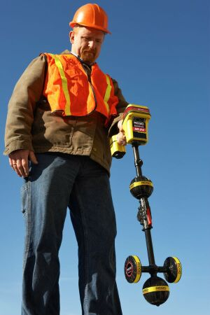 RIDGID Line Locator with Bluetooth and GPS| Concrete Construction