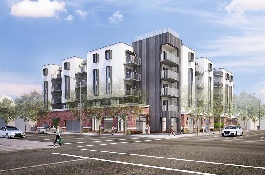 Crenshaw Villas | Architect Magazine | Los Angeles, Senior ...