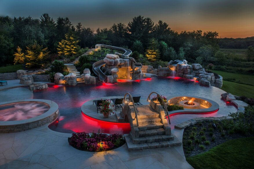 More Than A Rivulet Backyard Lazy Rivers Pool Amp Spa News
