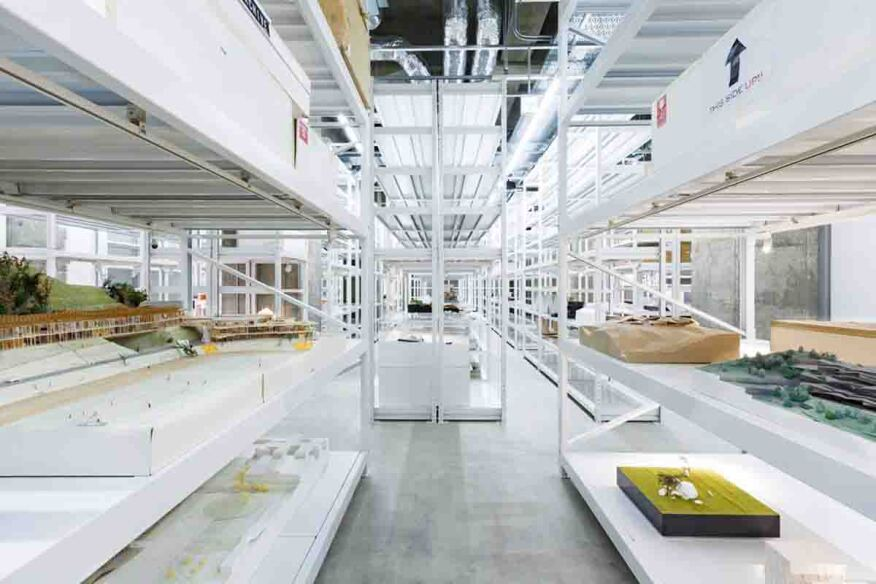 archi depot museum opens in japan architect magazine exhibitions