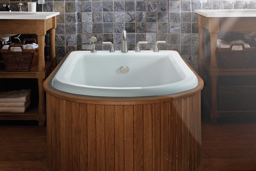 MTI Baths Adjustable Overflow Helps Reduce Water Use   Custom Home ...