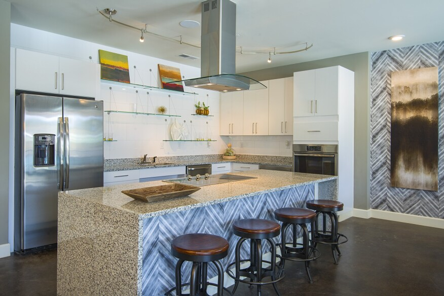 community kitchen, common area, amenities, low-rise, master plan, master-planned community, mixed-use, mixed product, Charleston