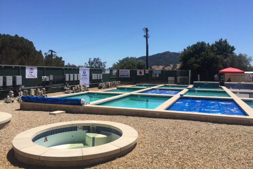 Evaporation Study Compares Water Savings Of Covers Pool