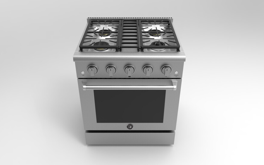 New 30-Inch Freestanding Gas Range by Vinotemp | Builder ...