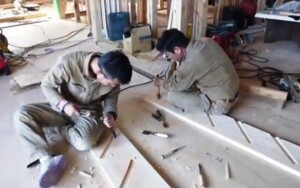 Japanese Stair Builders in Action   Tools of the Trade