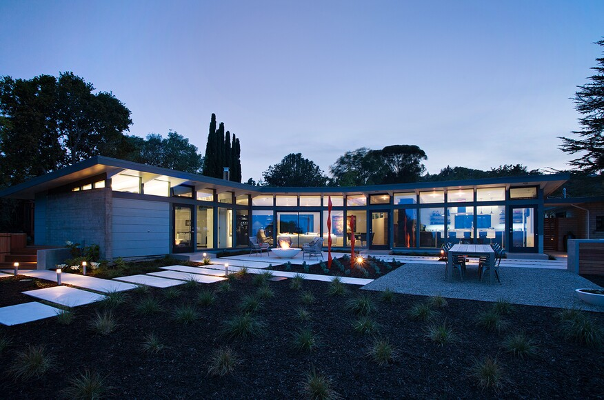 Mid Century Modern View House Remodel Architect Magazine Klopf