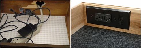 Here S My A Photo Of Favorite Diy Post Inspection Vs Docking Drawer In Outlet Solutions