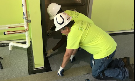 Indianapolis Contractor Launches Country 39 S First Floor Covering Apprenticeship Builder