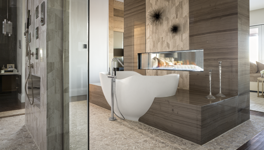 The Great Bathroom Debate: Shower or Tub? | Builder Magazine | Tubs ...