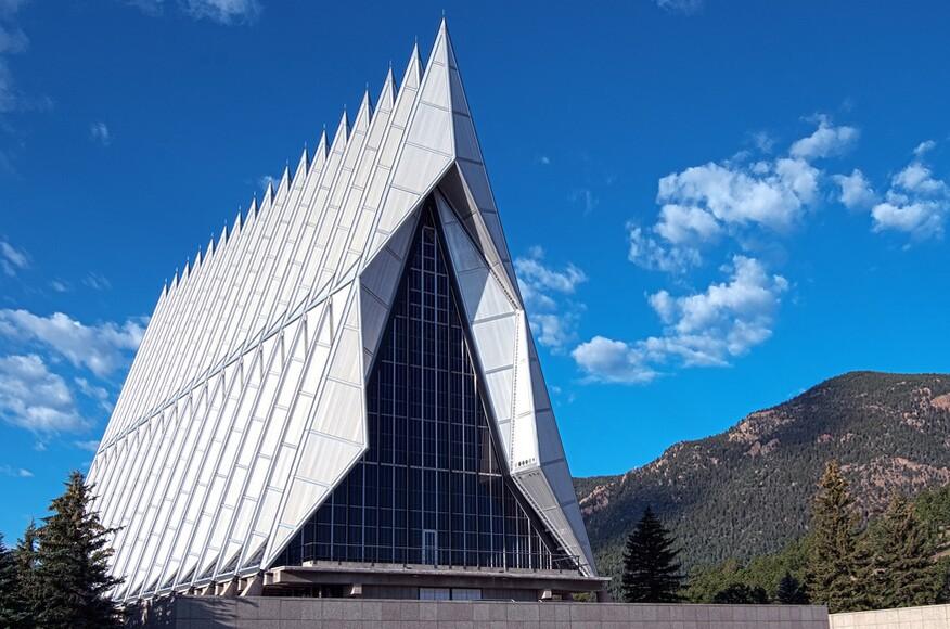 The air force academy cadet chapel architect magazine - Oakwood homes design center colorado springs ...