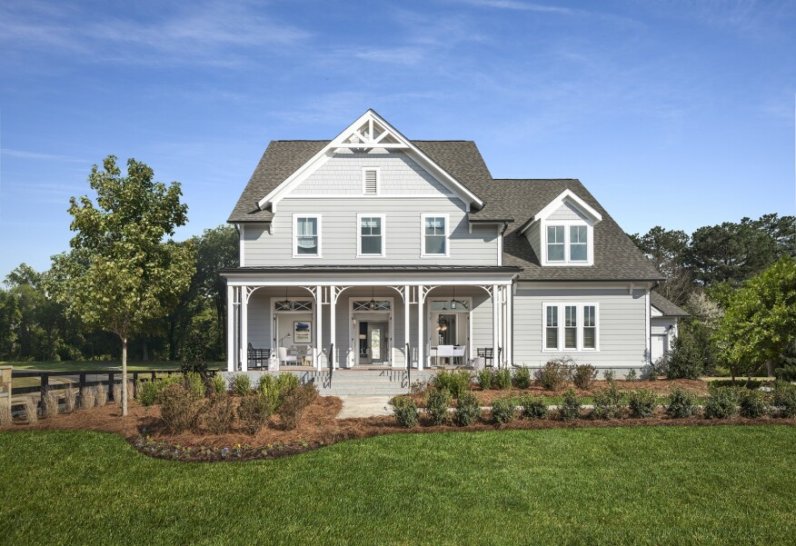 Fine New Model Home From Ashton Woods Tops 6 600 Sq Ft Home Interior And Landscaping Oversignezvosmurscom