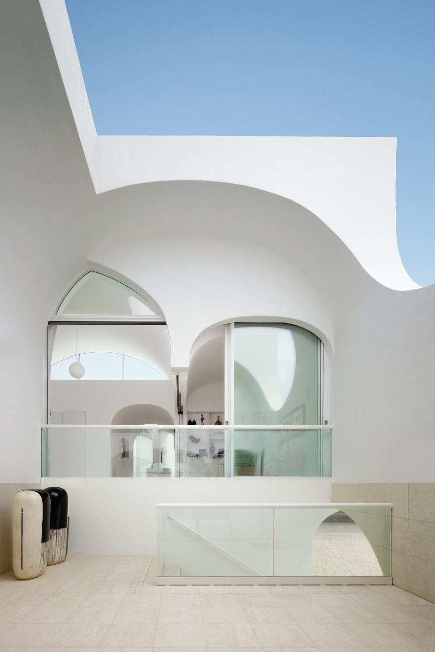 Vault house designed by johnston marklee architects for Building a home vault