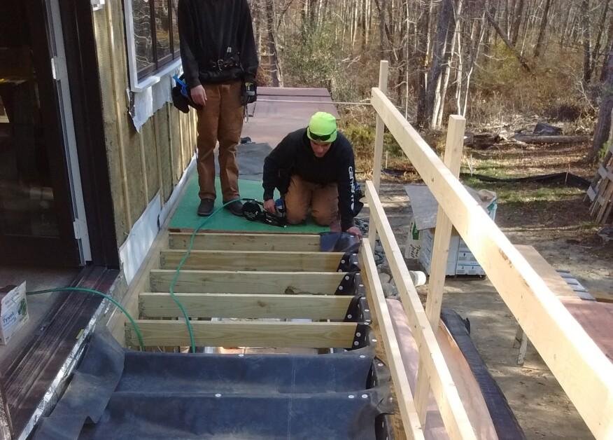 Installing Site-Built Under-Deck Drainage | Professional