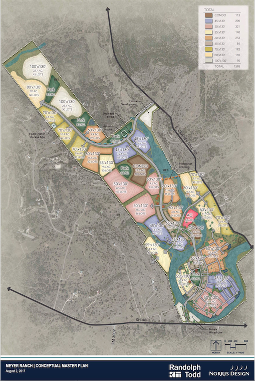 Developers to Build 1,600 Homes in New Braunfels, Texas MP