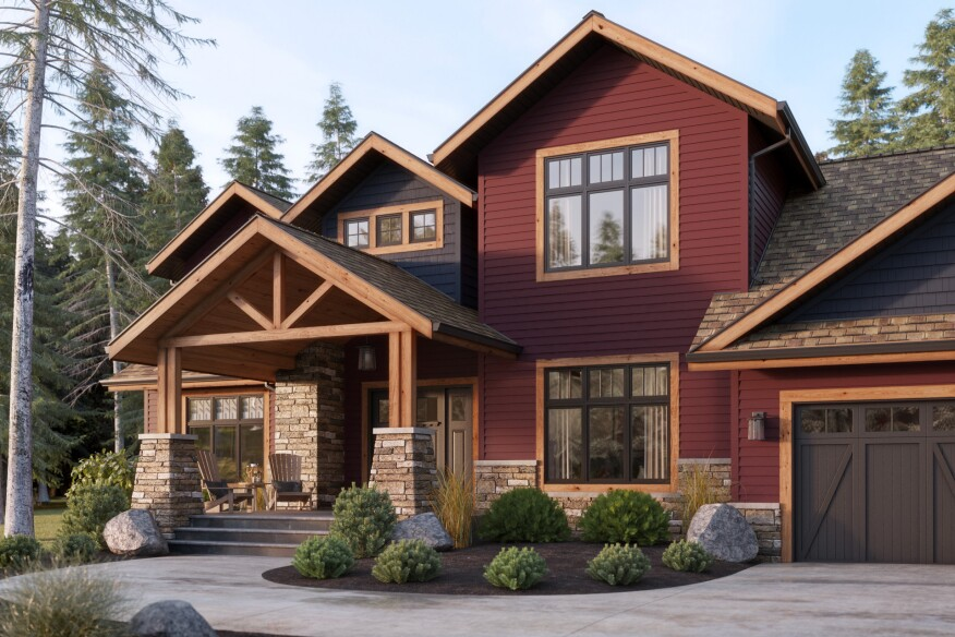 Addressing The Issues Of With Darker Siding Colors Mastic Home Exteriors By Ply Gem Introduces Solardefense Reflective Technology