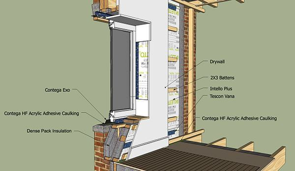 Details for foam free superinsulated construction jlc for New construction windows online