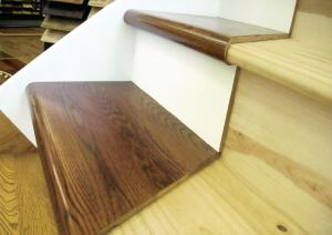 Starecasing Hardwood Overlay System