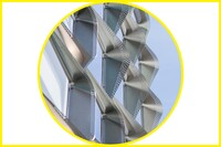 Honorable Mention: Hydroformed Shading, a Metal Feature Shaped by Water