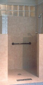 Clever Drainage for Open Showers | Remodeling