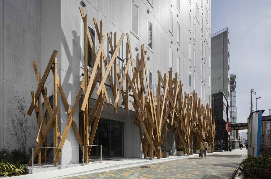 one tokyo architect magazine kengo kuma associates tokyo