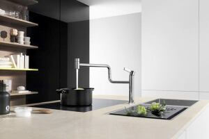 Pivot Kitchen Faucet by Dornbracht | Custom Home Magazine