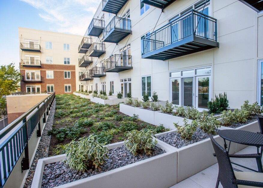Located in Illinois, the Residences of Wilmette, which features a green roof with drought-resistant plants, recently received LEED Gold certification from the USGBC.