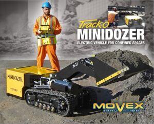 Movex Track-O Mini-Dozer M-27| Concrete Construction Magazine