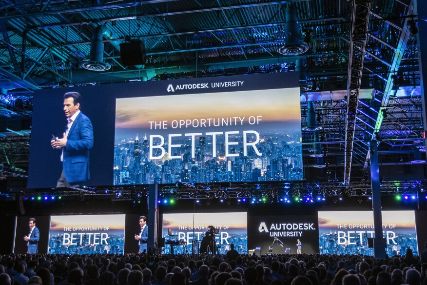 Autodesk University 2018 Challenges The Future Of Work